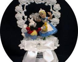 alice in wonderland cake topper etsy