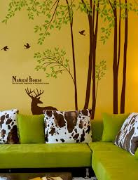 Wall Decor Stickers by 98 Inch Large Tree Wall Decals Home Decor Stickers Wallstickery