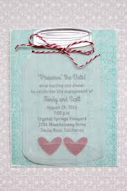 jar invitations jar wedding invitations crafts unleashed