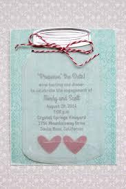 jar invitations jar wedding invitations crafts unleashed
