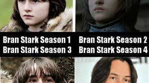 Keanu Reeve Meme - bran stark of winterfell has really matured since season 1 imgur