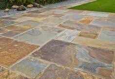 Slate Patio Pavers Modular Slate Outdoor Floor Patio And Deck Tile The Of