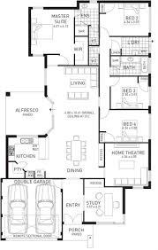 floor plans for single story homes floor single storey houses spacening best images on pinterest one