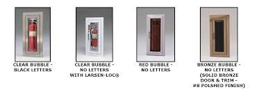 larsen u0027s c2409rt cameo series fire extinguisher cabinet