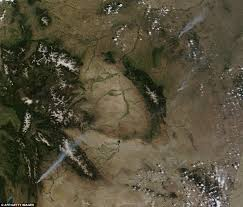 Wildfire From Space by Colorado Wildfires 2012 Waldo Canyon Fire Claims First Victim As