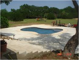 pool area ideas backyards charming backyard concrete ideas small concrete