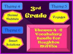 houghton mifflin reading series vocabulary cards teaching lang