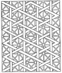 printable 32 cool geometric design coloring pages 7771 free