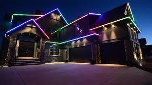 permanent led christmas lights custom led rgb lighting solutions in calgary heilight