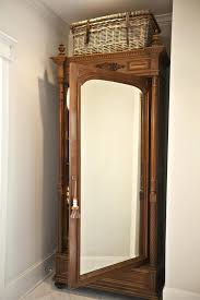 Jewelry Full Length Mirror Armoire Wood Computer Armoire Surprsing Antique For Sale Wardrobe With