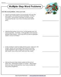 sample word problem worksheets lukex co