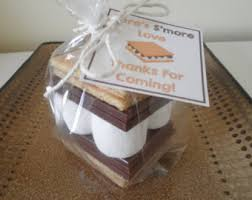 smores wedding favors smore favors etsy