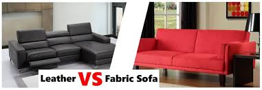 Which Sofa Bed Leather Vs Fabric Sofa Which Sofa