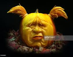 scary pumpkin carving by ray villafane photos and images getty