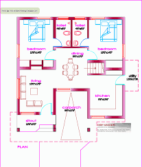 100 100 gaj sq ft house plan for 23 feet by 45 feet plot