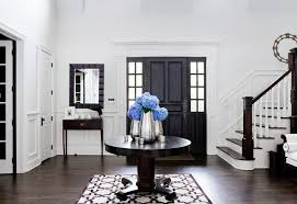 White Foyer Table Foyer Table Ideas Entry Traditional With White Risers Step