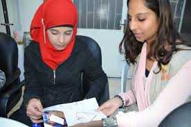 dadaab students send letters of hope to syrian children reshma khan