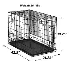 amazon pet supplies black friday amazon com solution series double door folding metal dog crate