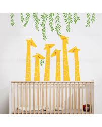 Wall Decals Baby Nursery Deals On Giraffe Wall Decal Baby Nursery Designs Nursery Wall