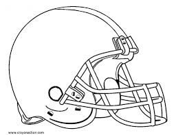 Football Helmet Coloring Page Crayon Action Coloring Pages Football Coloring Page