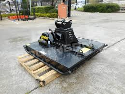 digga 1500mm slasher brush cutter attachment with excavator pick