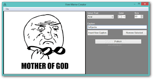 Meme Generator App For Pc - download free meme creator 1 0 0