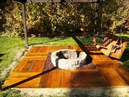 Deck Firepit Pit On Deck Deck Design And Ideas