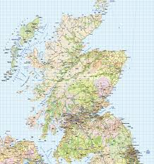 British Isles Map British Isles 1st Level Political Road U0026 Rail Map 750 000 Scale
