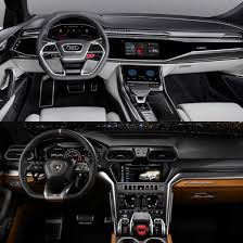 suv lamborghini interior photo comparison audi q8 concept vs lamborghini urus