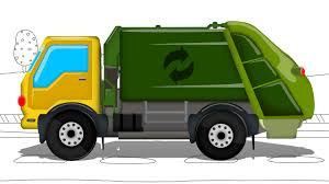 truck monster video garbage truck street vehicle emergency vehicle trucks