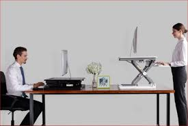 bureau assis debout poste de travail assis debout à poser sur le bureau kab 1