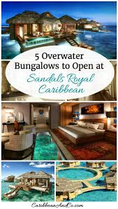 the caribbean u0027s first all inclusive overwater bungalows are here