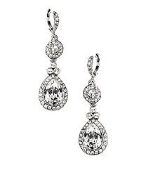 bridal drop earrings accessories jewelry bridal jewelry earrings dillards