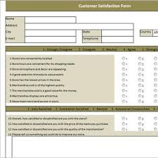 customer satisfaction report template customer satisfaction survey