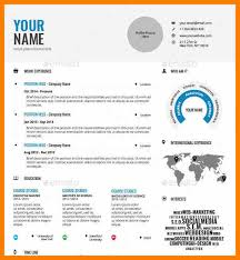 8 template infographic resume science resume