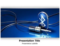 bluetooth advantages powerpoint templates and backgrounds