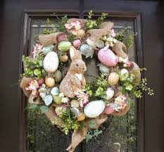 how to make easter wreaths easter egg wreath easter bunny wreath front door wreath burlap