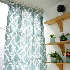 Custom Linen Curtains Custom Style Printed Linen Cotton Geometric Curtains