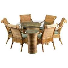 rattan dining room chairs 67 for sale at 1stdibs