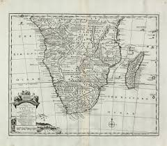 Map Of Southern Africa by A New U0026 Accurate Map Of The Southern Parts Of Africa Bowen