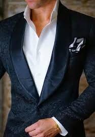 white slim fit designer paisley jacket satin shawl collar full