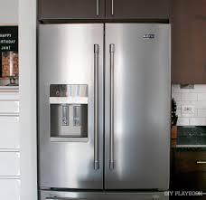 top of fridge storage how to organize your french door refrigerator diy playbook