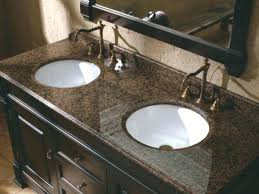 Granite For Bathroom Vanity Marble Or Granite For Bathroom Countertop Astonishing Choosing