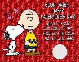 snoopy valentines day brown snoopy s day scratch cards favors