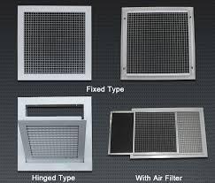 Decorative Return Air Grill Custom Ventilation Aluminum Eggcrate Ceiling Decorative Return Air