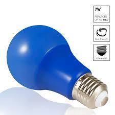 Led Blue Light Bulb by Torchstar Blue Led A19 Colored Light Bulb E26 Medium Base