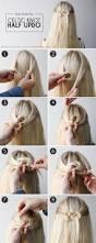 hair how to celtic knot half updo more com