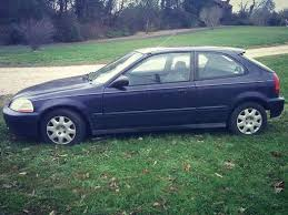 honda civic hatchback 1999 for sale coal we managed to buy the one unreliable honda civic