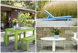 Turquoise Patio Furniture by Laid Back Modern Patio Furniture Made From Hundreds Of Milk Jugs