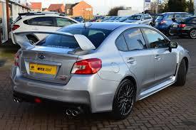 2017 subaru impreza sedan silver used 2017 subaru wrx sti type uk for sale in cambridgeshire